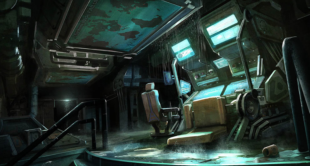 Concept Art Sci Fi Apartment
