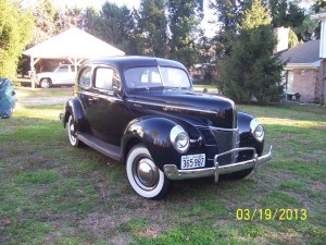 Johnnys 40 ford 2 door 5