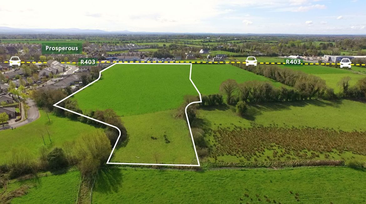Ready to go Housing Site – Downings North, Prosperous, Co. Kildare