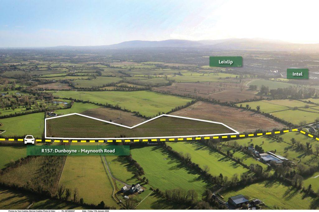Prime Agricultural lands in Co. Meath. c. 29 acres at Bogganstown, Dunboyne, Co. Meath.