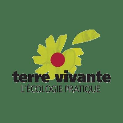 COOP aux BOIS, menuiserie de bâtiment et agencement - Logo Terre Vivante