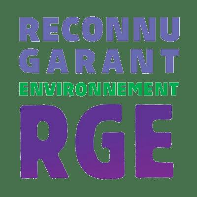 COOP aux BOIS, menuiserie de bâtiment et agencement - Logo label RGE reconnu garant de l'environnement