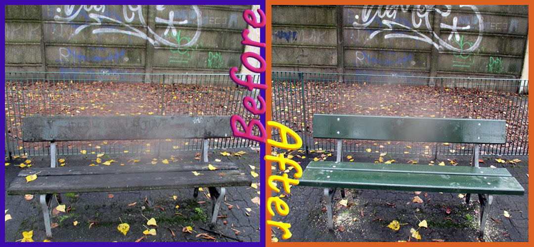 Brand-new benches for Turin