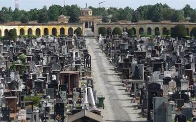 Cemetery of Piacenza – Covid-19 emergency