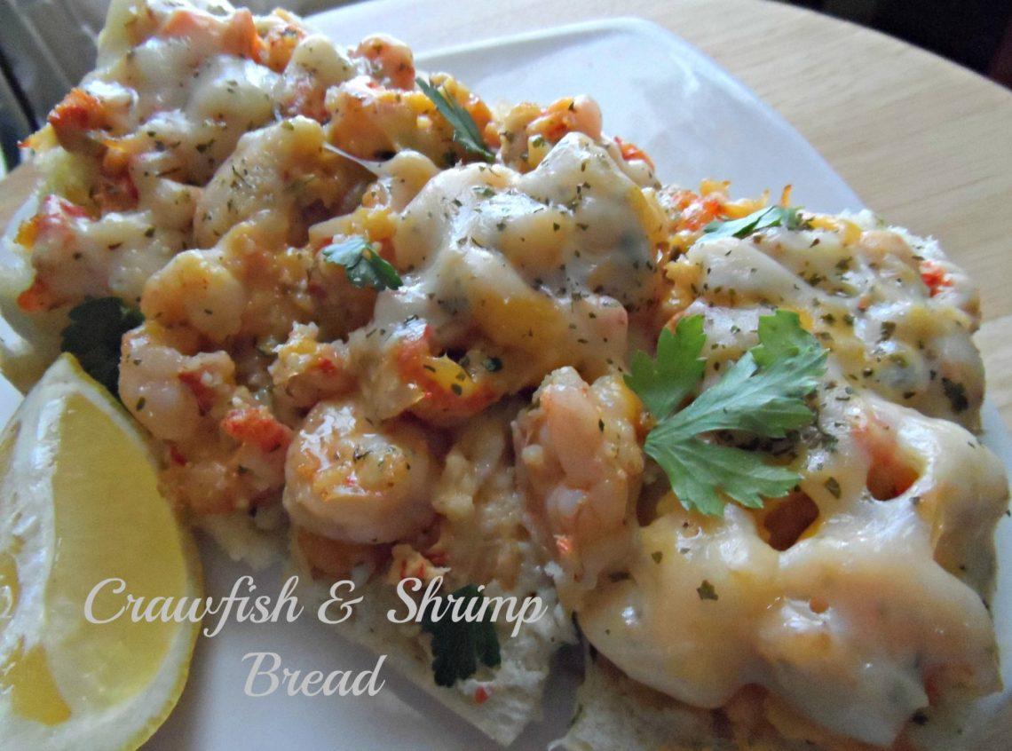 Crawfish and Shrimp Bread