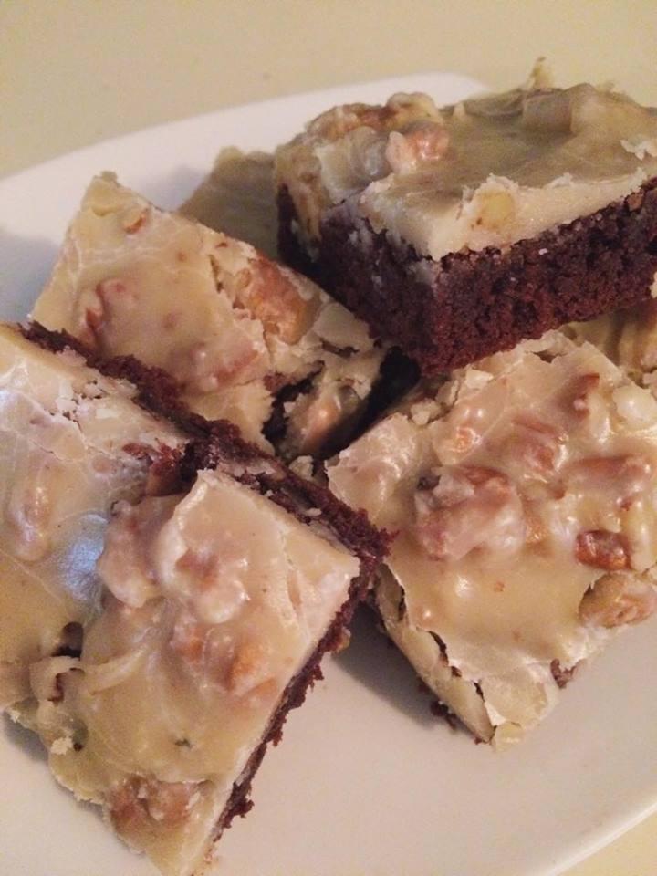 Praline Fudge Brownies