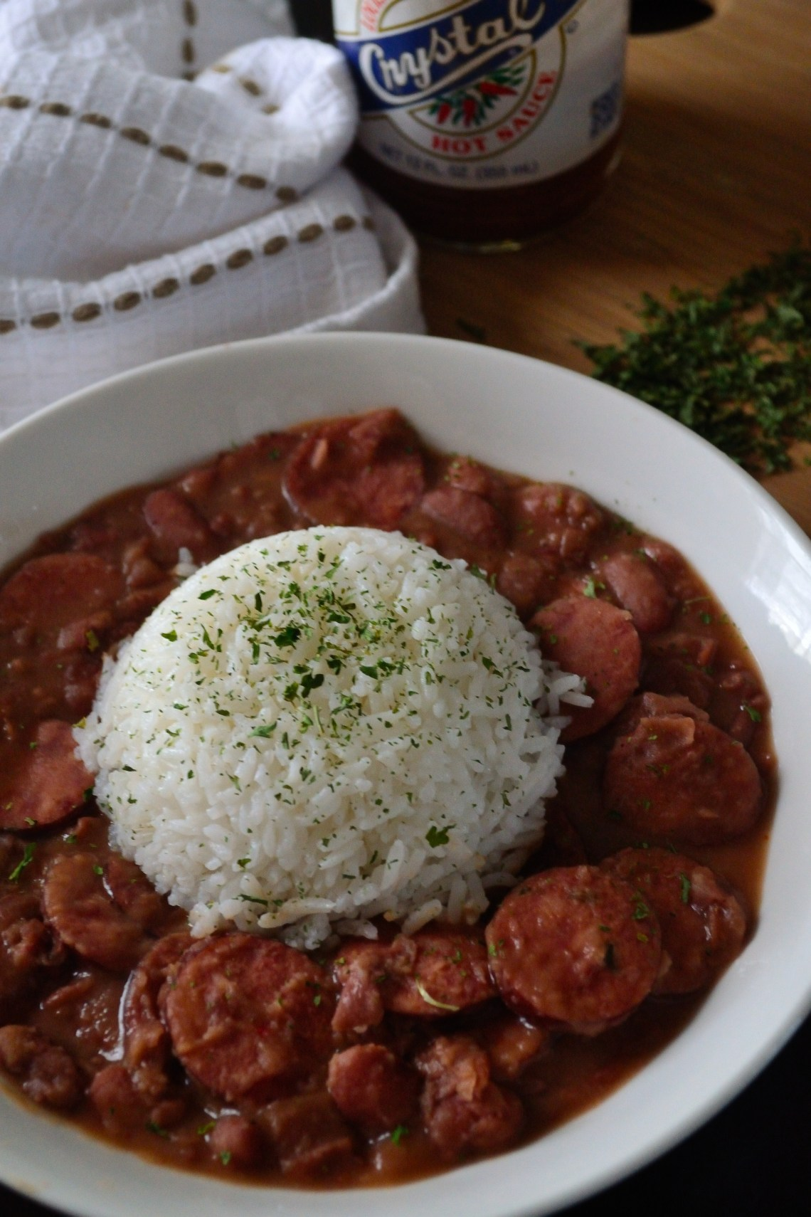 Creamy Red Beans and Rice