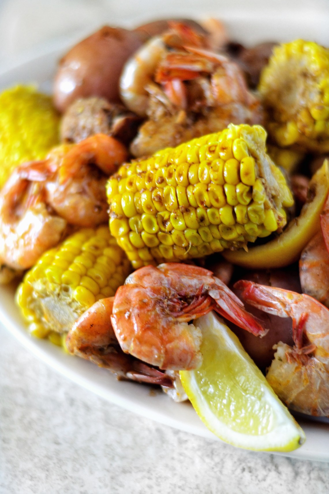 Pressure Cooker Shrimp Boil Recipe
