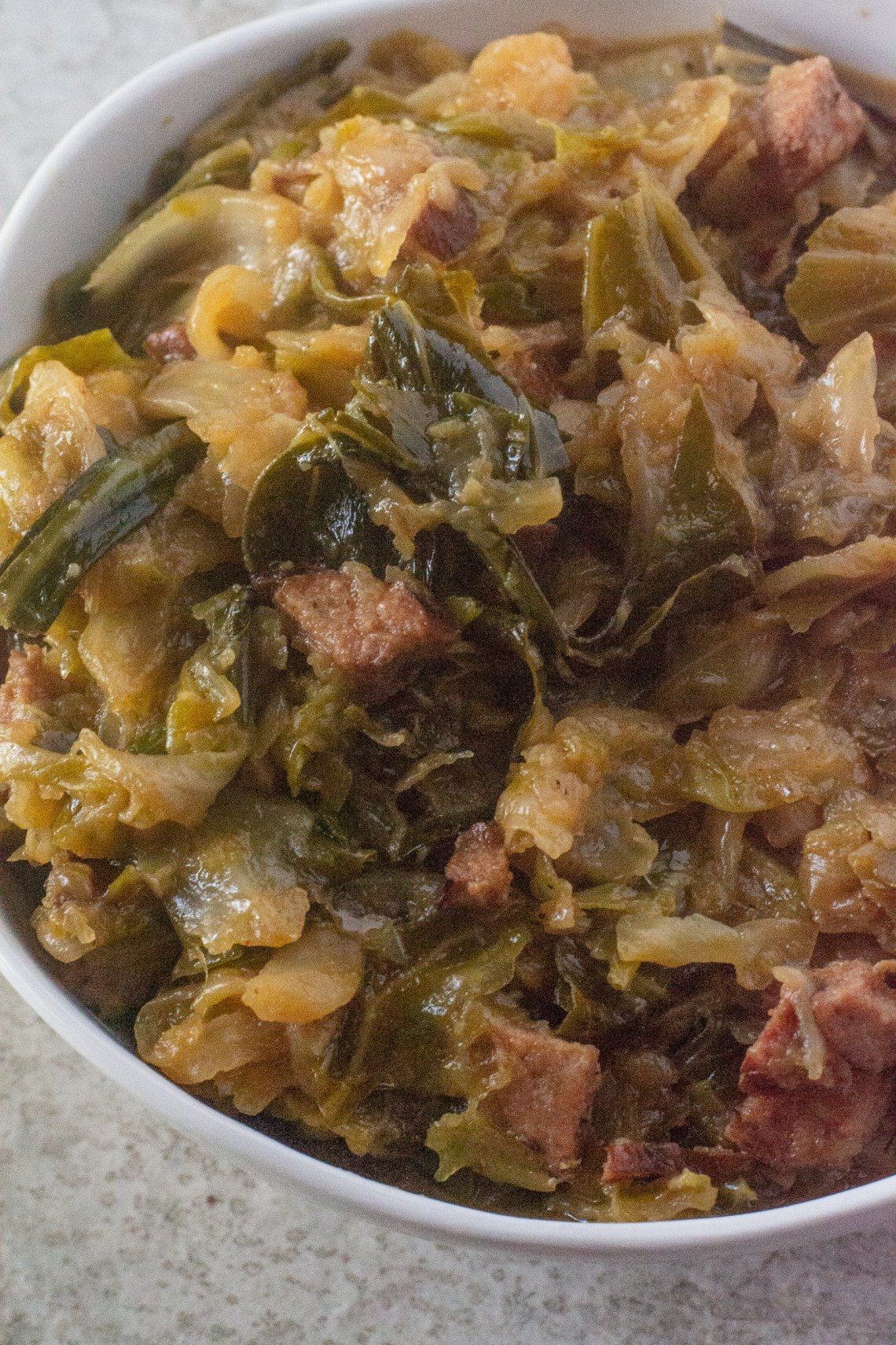 Smothered Cabbage Recipe