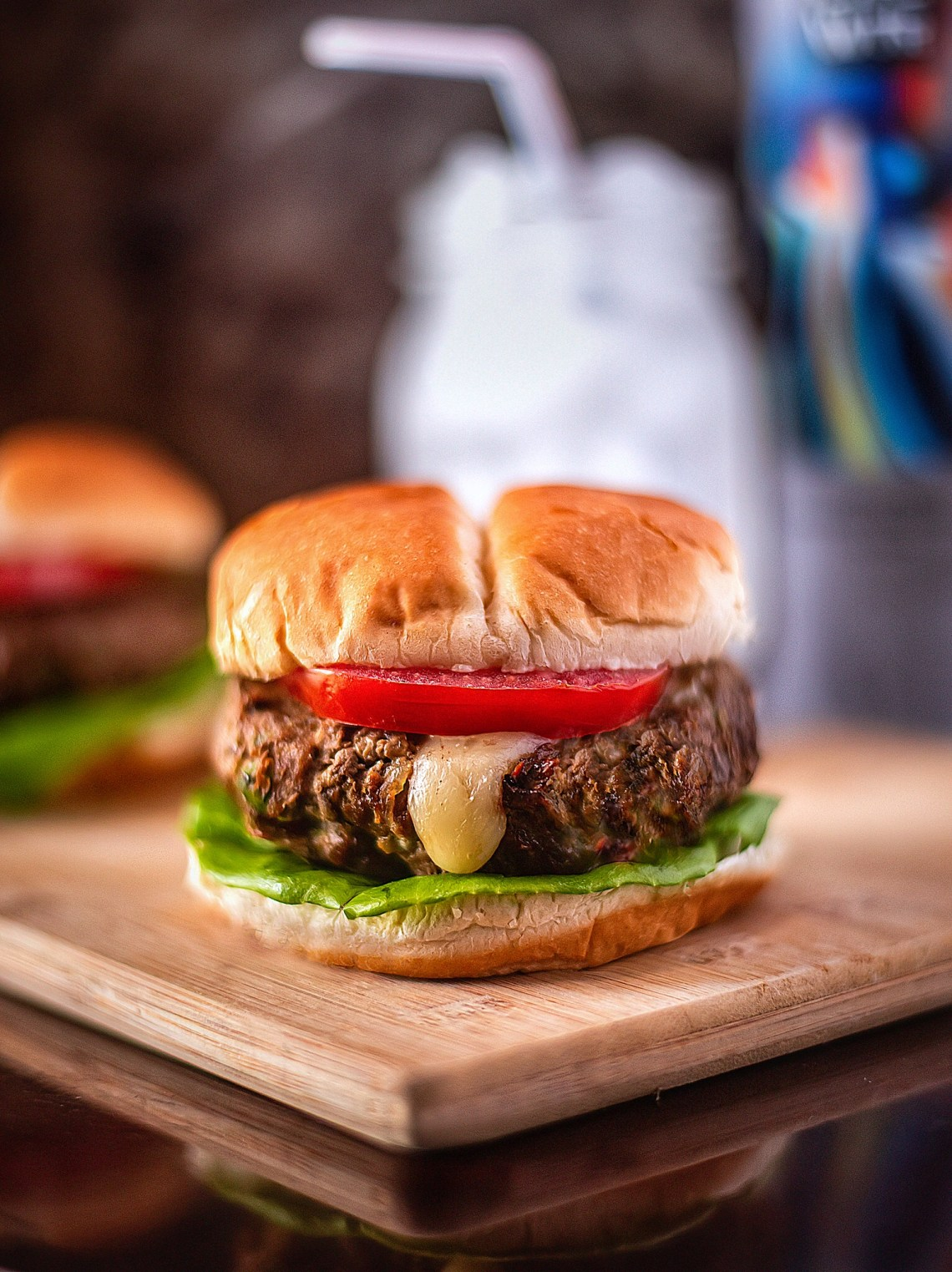 Air Fryer Stuffed Hamburgers Recipe