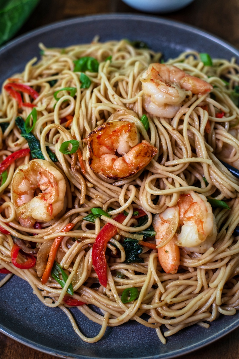 The Best Shrimp Lo Mein Recipe