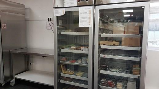 Emplacement nouveau frigo