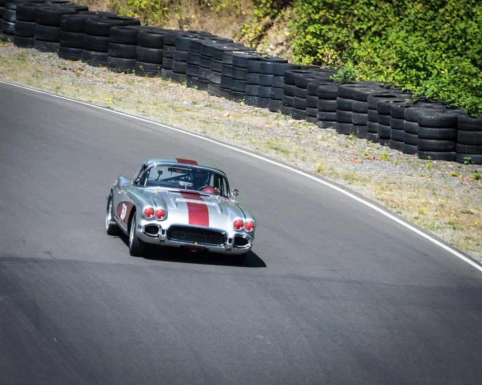 Cooper DuBois Portland racing enthusiast enjoys the heavy-duty suspension.