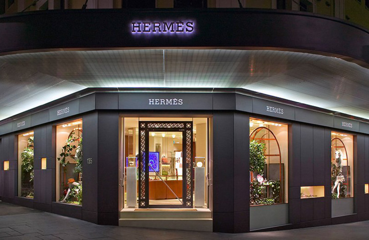 Construction Company Sydney Retail fit-out Hermes