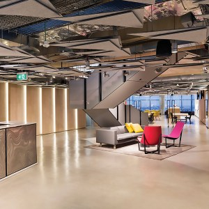 Construction Company Sydney Sector Office Fit-out