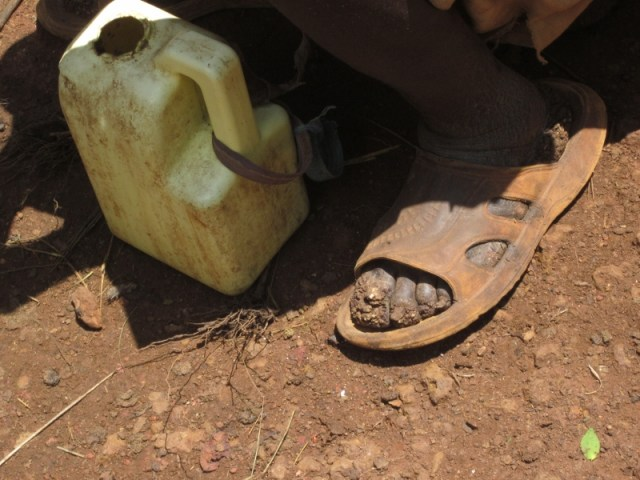 Descalços sobre la terra / Descalzos sobre la tierra africa