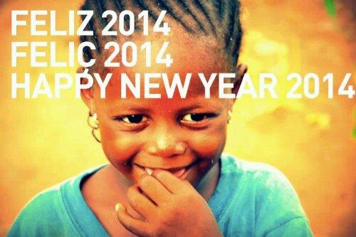 Feliç 2014 des de DUNA:petits grans de sorra africa