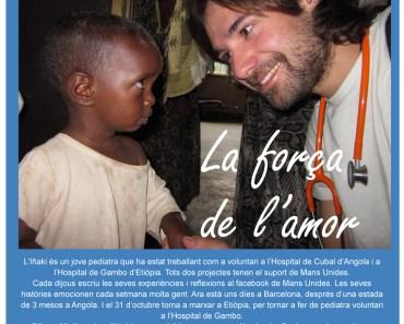 La fuerza del Amor – Testimonio de cooperación en África