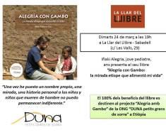Martes 24 de Marzo presentación en La Llar del Llibre de Sabadell