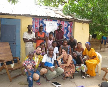 Desde Senegal os presentamos al equipo local de La Joie des Orphelins