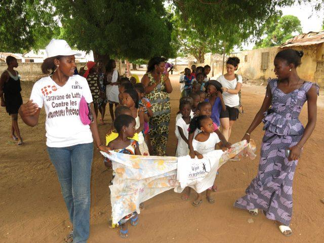 La Joie des Orphelins, desde Senegal con La Transpirenaica Social y Solidaria africa dr alegria