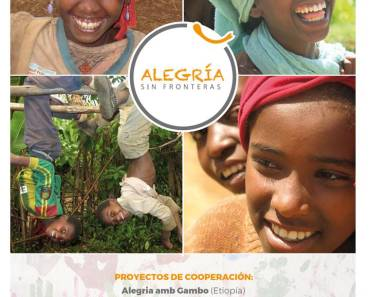 Calendario solidario ALEGRÍA SIN FRONTERAS