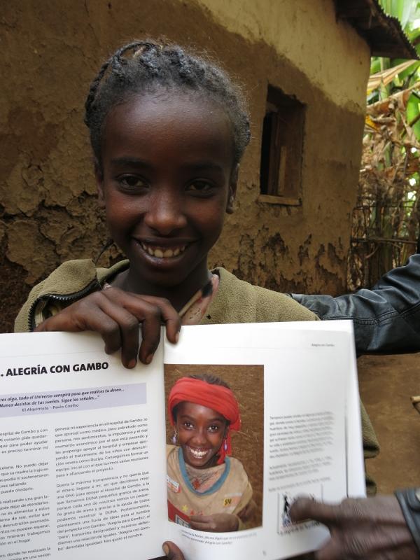 Nassaneth: La mirada de Alegría y Esperanza de Alegría con Gambo, Alegría Sin Fronteras alegria gambo alegria sin fronteras dr alegria etiopia