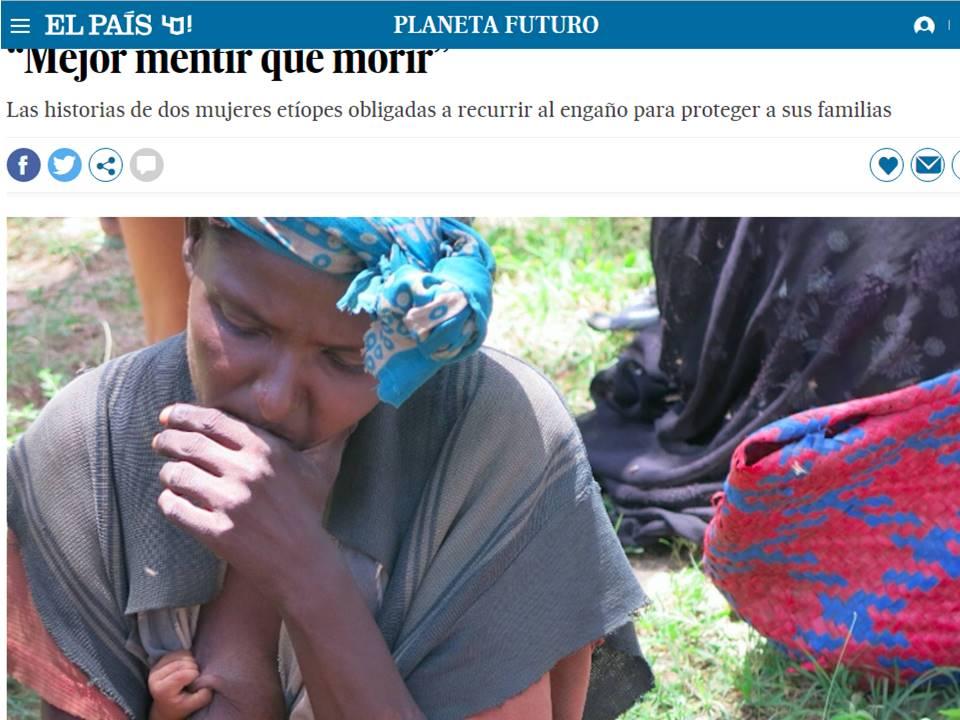 """Mejor mentir que morir"" africa alegria gambo alegria sin fronteras dr alegria etiopia gambo"