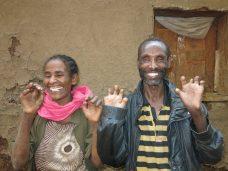 El pueblo de la Alegría. Gambo, Etiopía