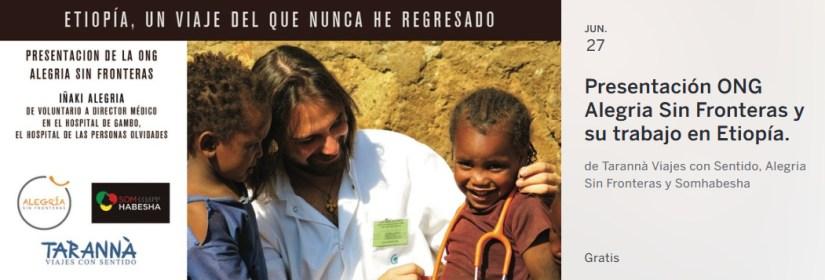 Presentación ONG Alegria Sin Fronteras