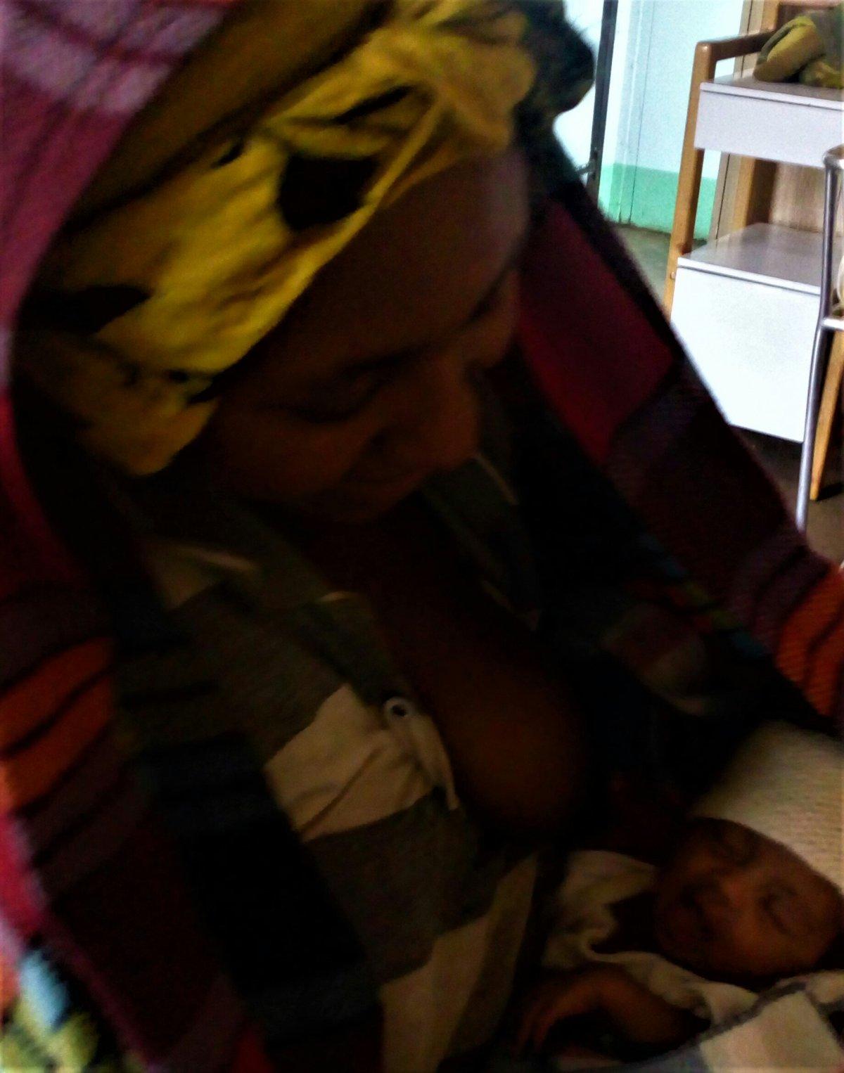 Y a los 16 días respiró africa alegria gambo alegria sin fronteras dr alegria gambo