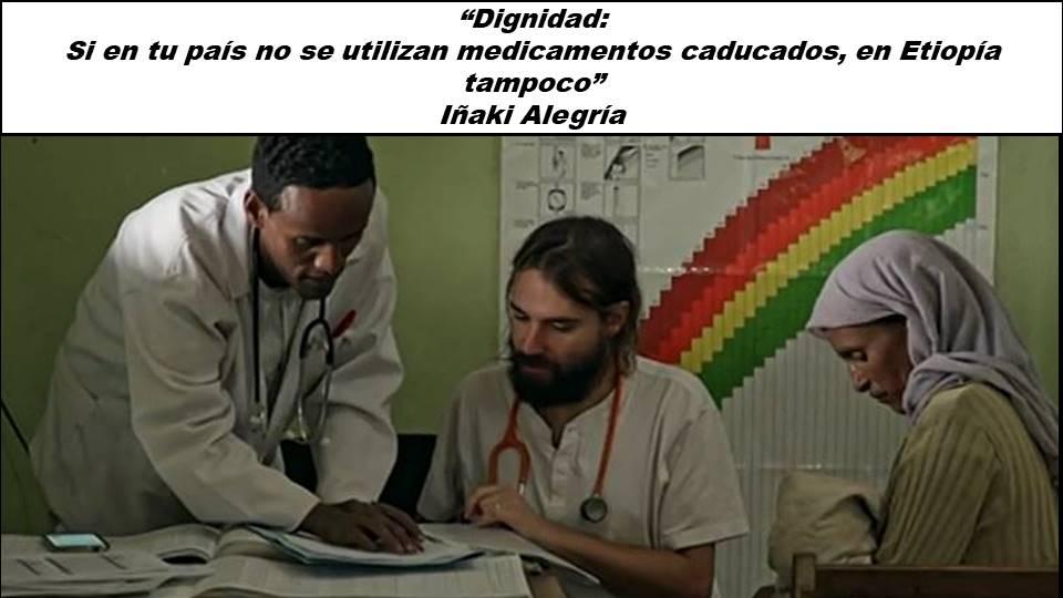 Dignidad: Si en tu país no se utilizan medicamentos caducados, en Etiopía tampoco africa alegria gambo alegria sin fronteras