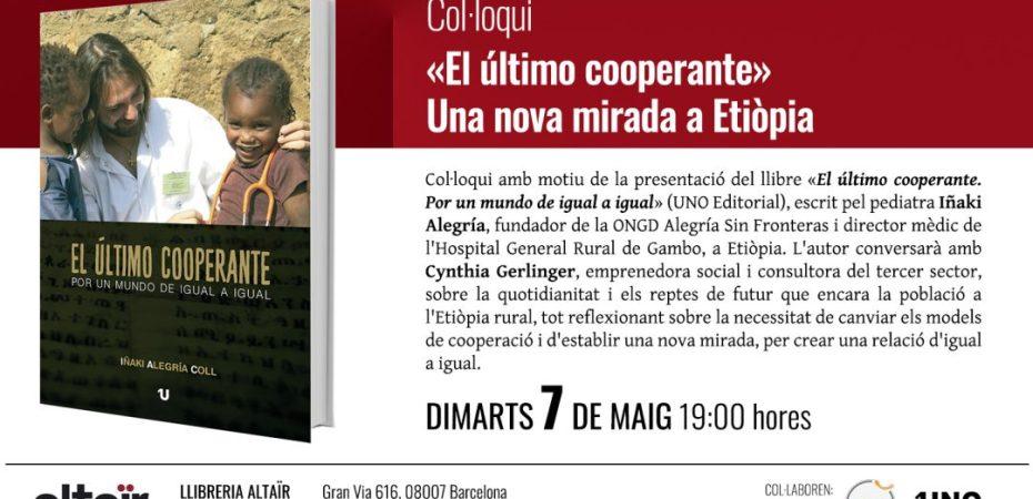6fb836854f Coloquio presentación en librería Altaïr Martes 7 de Mayo a las 19h —