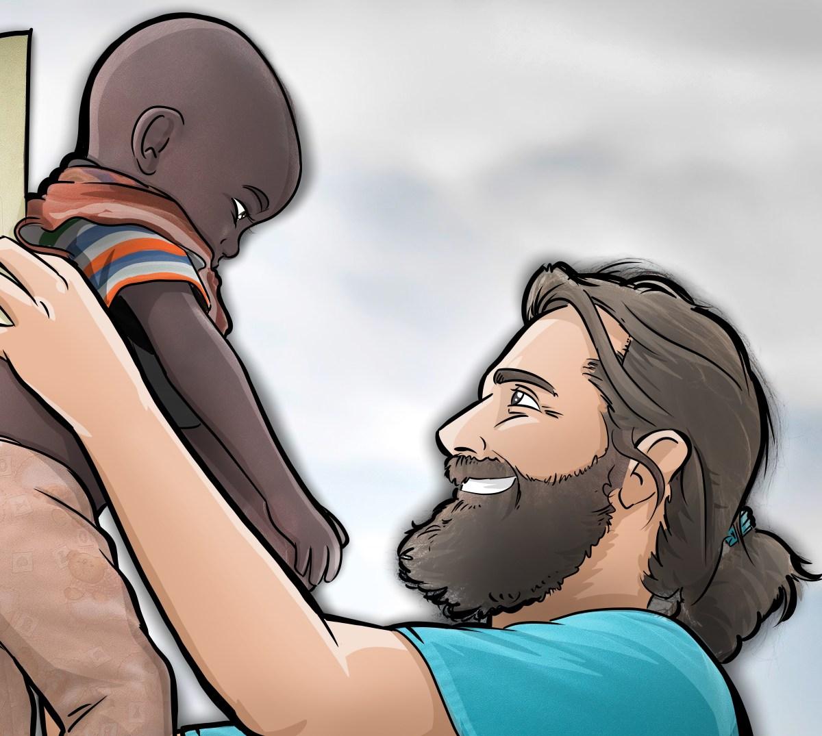 """Nueva sección interactiva de """"Ilustraciones y dibujos"""" africa"""
