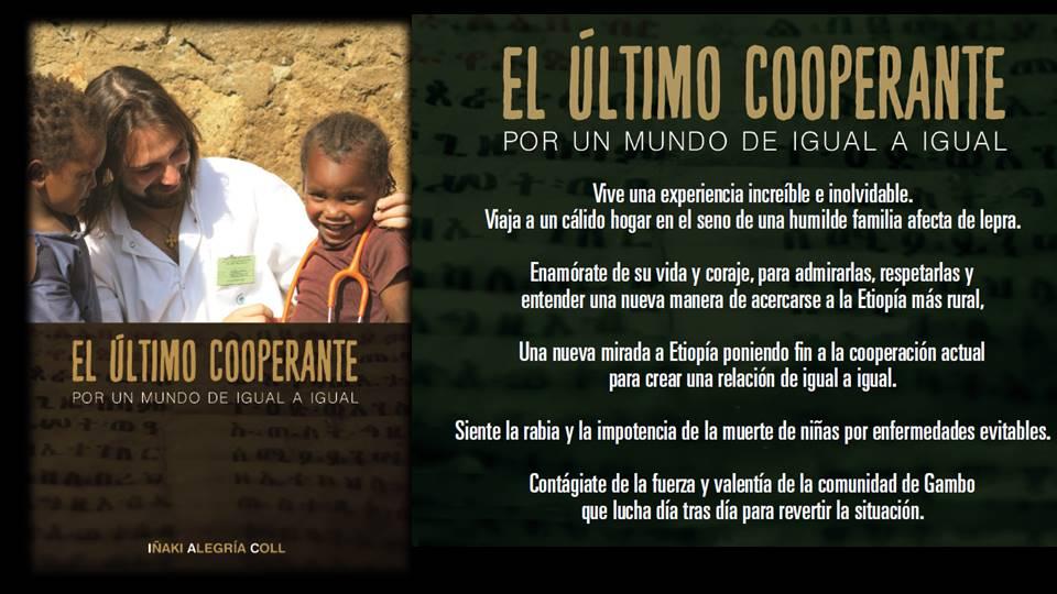 El último cooperante: Por un mundo de igual a igual - Ya a la venta mi nuevo libro africa dr alegria