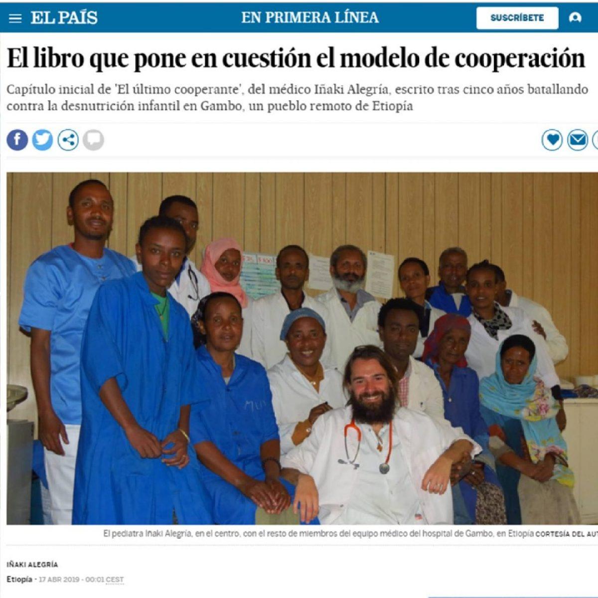 Ya puedes leer gratis los primeros capítulos de mi nuevo libro: El último cooperante africa alegria gambo alegria sin fronteras dr alegria etiopia gambo