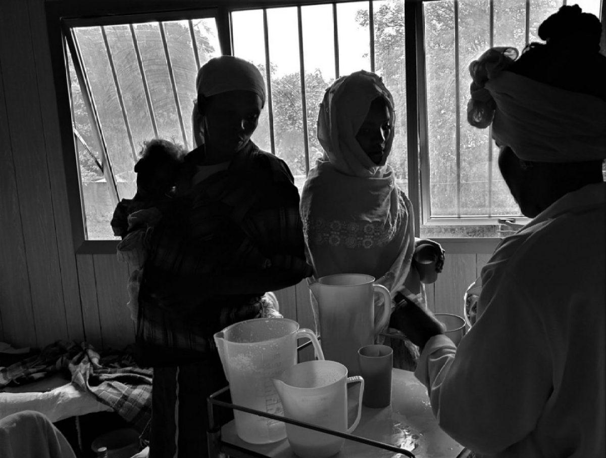 El hospital que multiplica las camas sin dormir alegria gambo alegria sin fronteras dr alegria etiopia