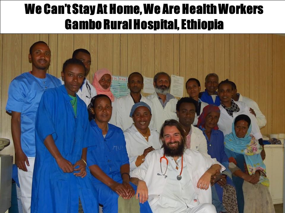 Os quiero dar las gracias y aplaudir de corazón africa dr alegria