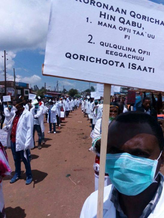 Colabora: Los héroes sanitarios etíopes también tienen derecho a protegerse del Coronavirus africa alegria gambo etiopia gambo