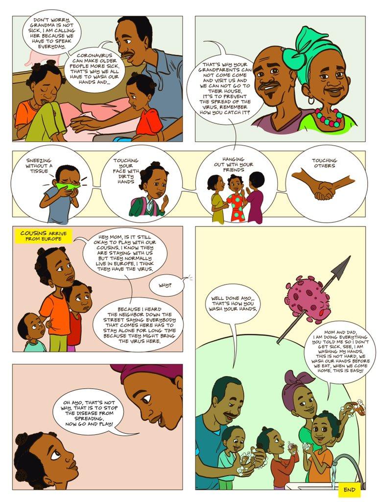 Ubuntu, Children's Story Book: What is the Coronavirus? africa