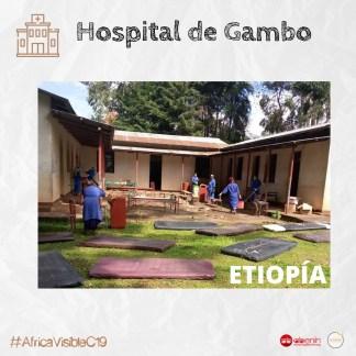 ETIOPÍA: Rehabilitación de un nuevo pabellón de aislamiento para Coronavirus africa alegria gambo alegria sin fronteras gambo