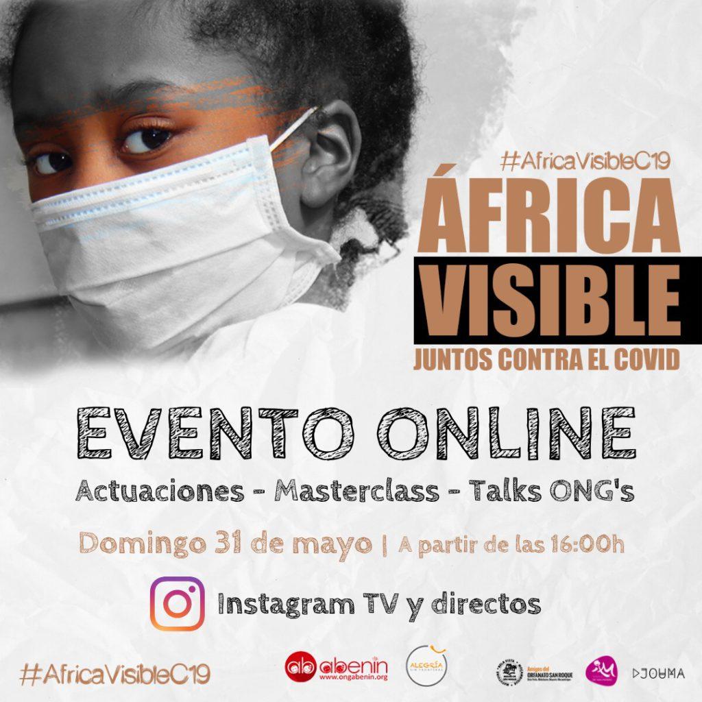 Evento #AfricaVisibleC19 africa alegria gambo alegria sin fronteras dr alegria
