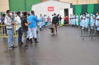 Firmamos el acuerdo de colaboración con el Saint Paul's Hospital de Addis Ababa africa alegria gambo alegria sin fronteras dr alegria gambo