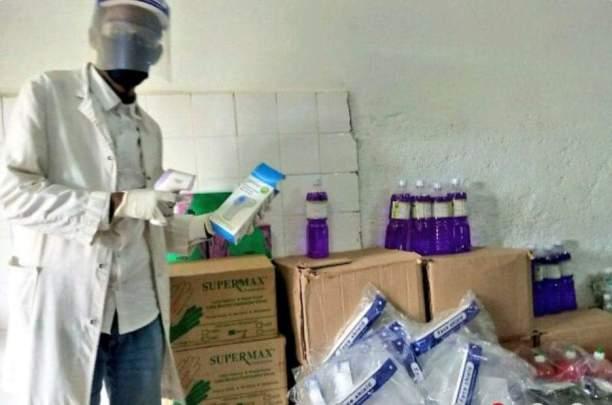 Se inician las PCR a COVID19 en el Hospital de Gambo de Etiopía africa alegria gambo gambo