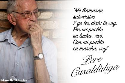 Pedro Casaldáliga: frases y causas africa