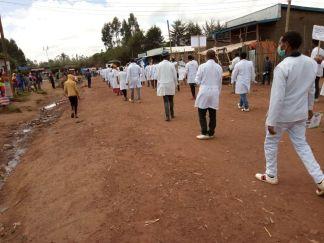 Gambo y los Ocho pasos en la respuesta COVID19: africa