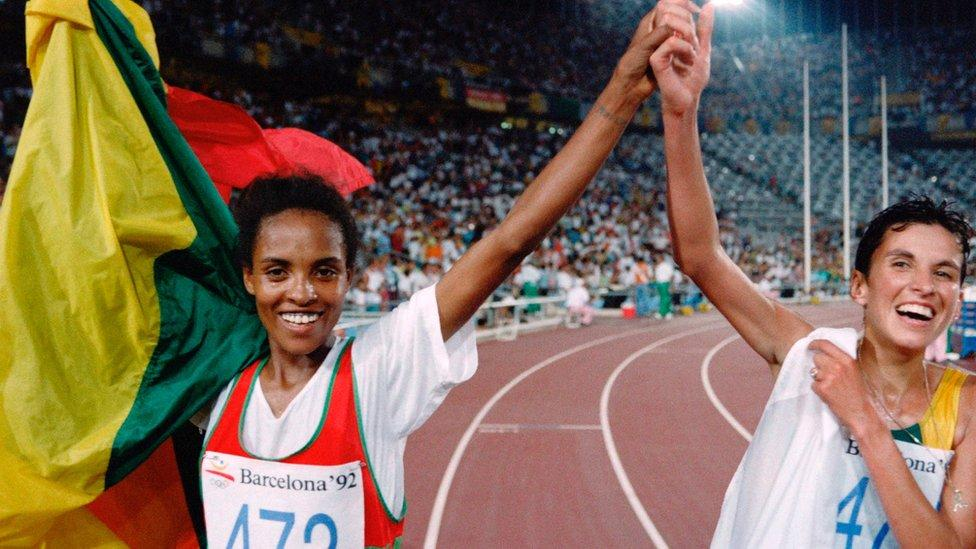 Derartu Tulu, la atleta etíope que hizo historia en Barcelona 92 africa