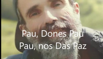 Eso que tú me das, La Nueva canción de Pau Donés, Jarabe de Palo africa