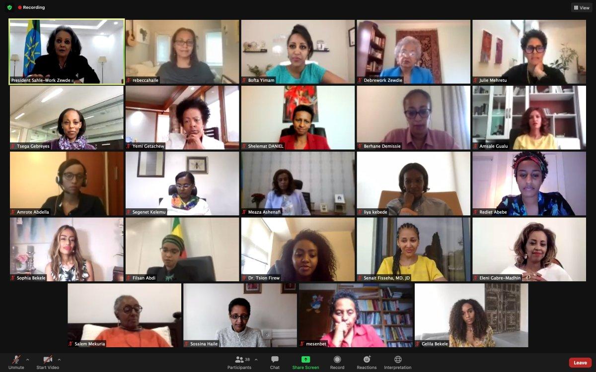 Mujeres etíopes por el mundo Racismo