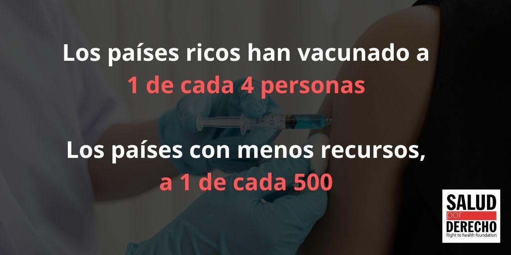 Vacunas: No se trata de dar las sobras, sino de dar la receta actualidad Vacuna Covid19
